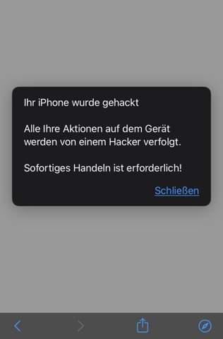 - (Computer, Handy iPhone 8 , Gehackt Viren Hacker )