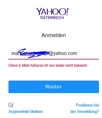 Meine Yahoo Mail