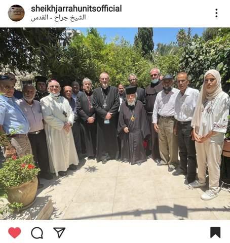 Wusstet ihr, dass die meisten palästinensischen und arabischen Christen auf der Seite der Palästinenser stehen?