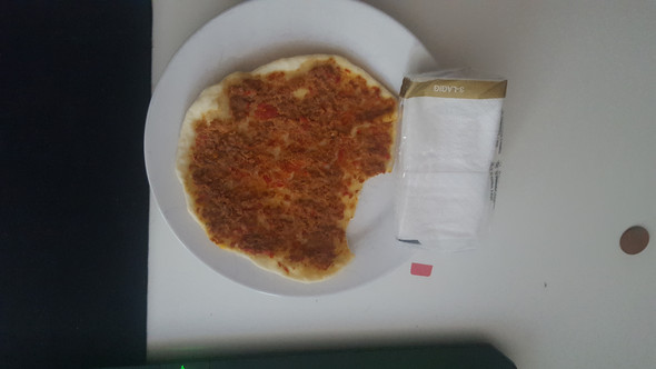 selbstgemachte pizza kcal