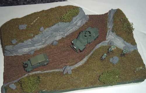 WWII Modelle von Revell mit Diorama - (Modellbau, Weltkrieg, revell)