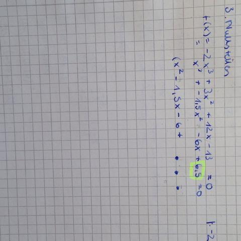 Hier nochmal bildlich  - (Mathe, Mathematik, Kurvendiskussion)