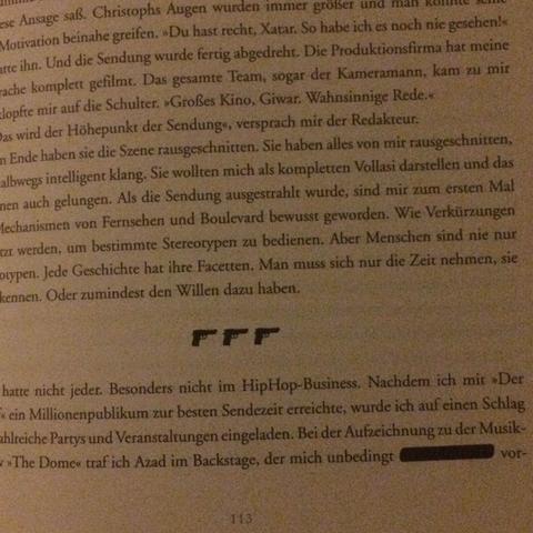 Schwarzer Balken  - (Buch, xatar)