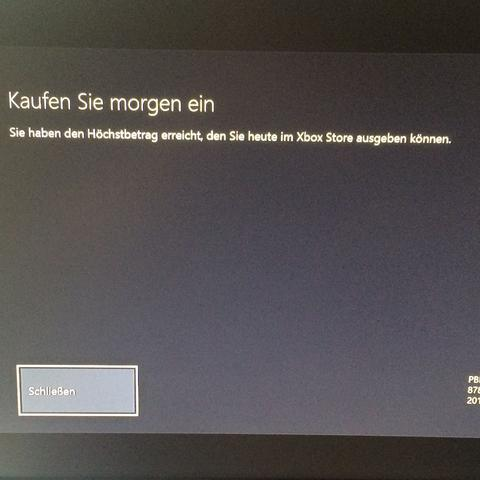 Hier die Fehlermeldung  - (Fehlermeldung, XBOX ONE, Battlefield 4)