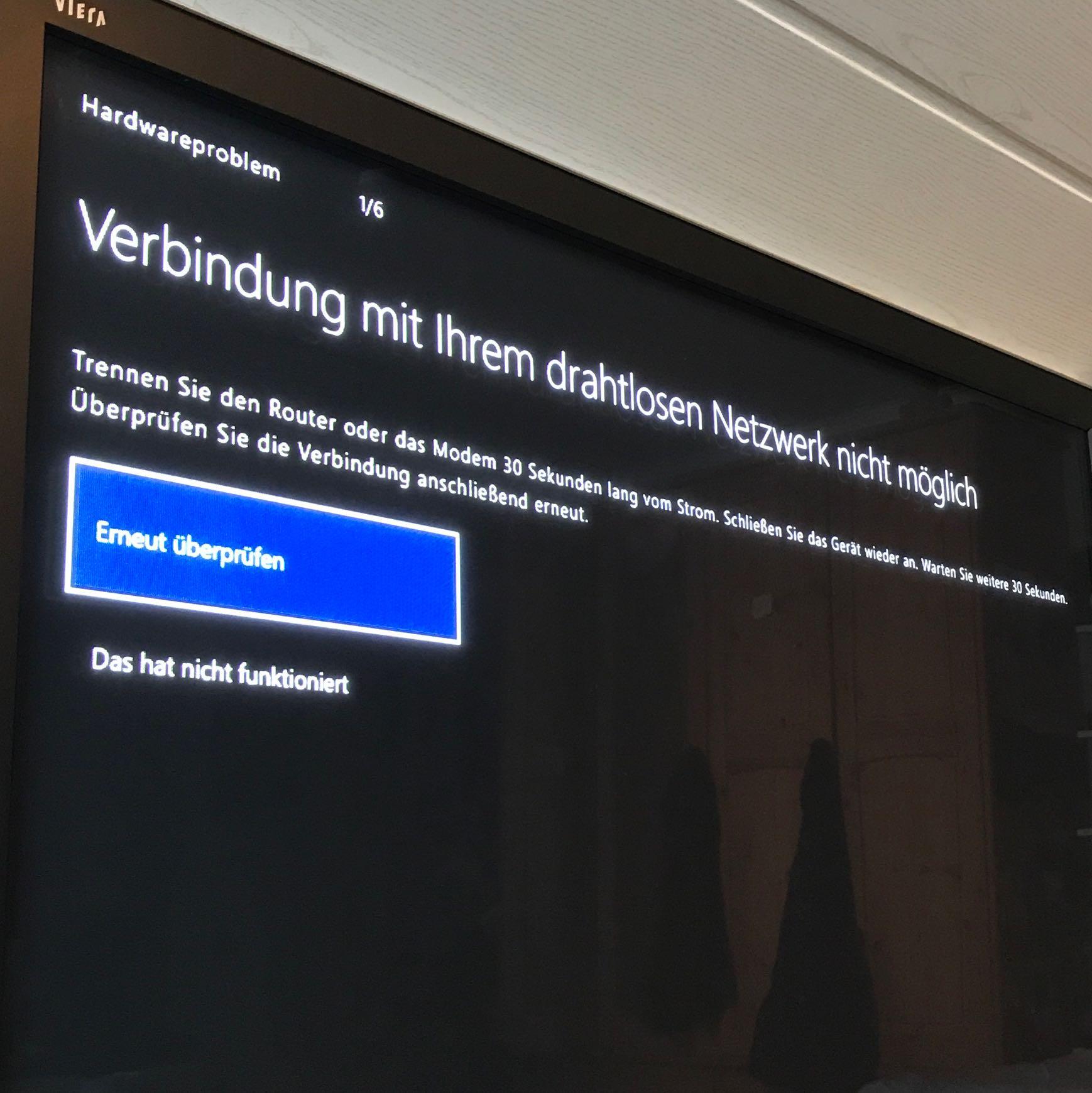 XBox One verbindet sich nicht mit dem Internet? (WLAN, Telekom ...