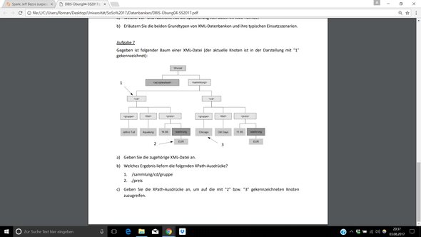 Aufgabe - (Informatik, Datei, Baum)