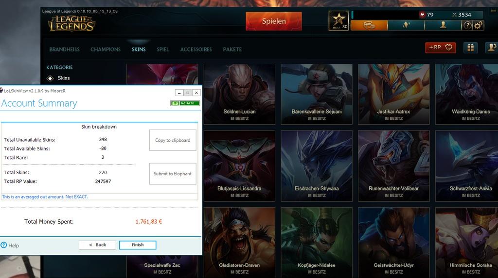 Xwie Viel Ist Mein League Of Legends Account Wert Preiswert