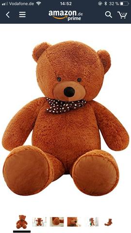 XXL Teddy selber nähen?