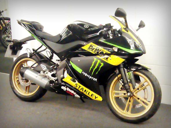 Yamaha YZF R125 Monster Energy, DeWalt, Stanley - Folien - (Motorrad, Folie, Monster energy)
