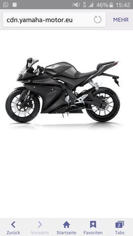 2. Yamaha MT125 - (Motorrad, Entscheidung, 125ccm)