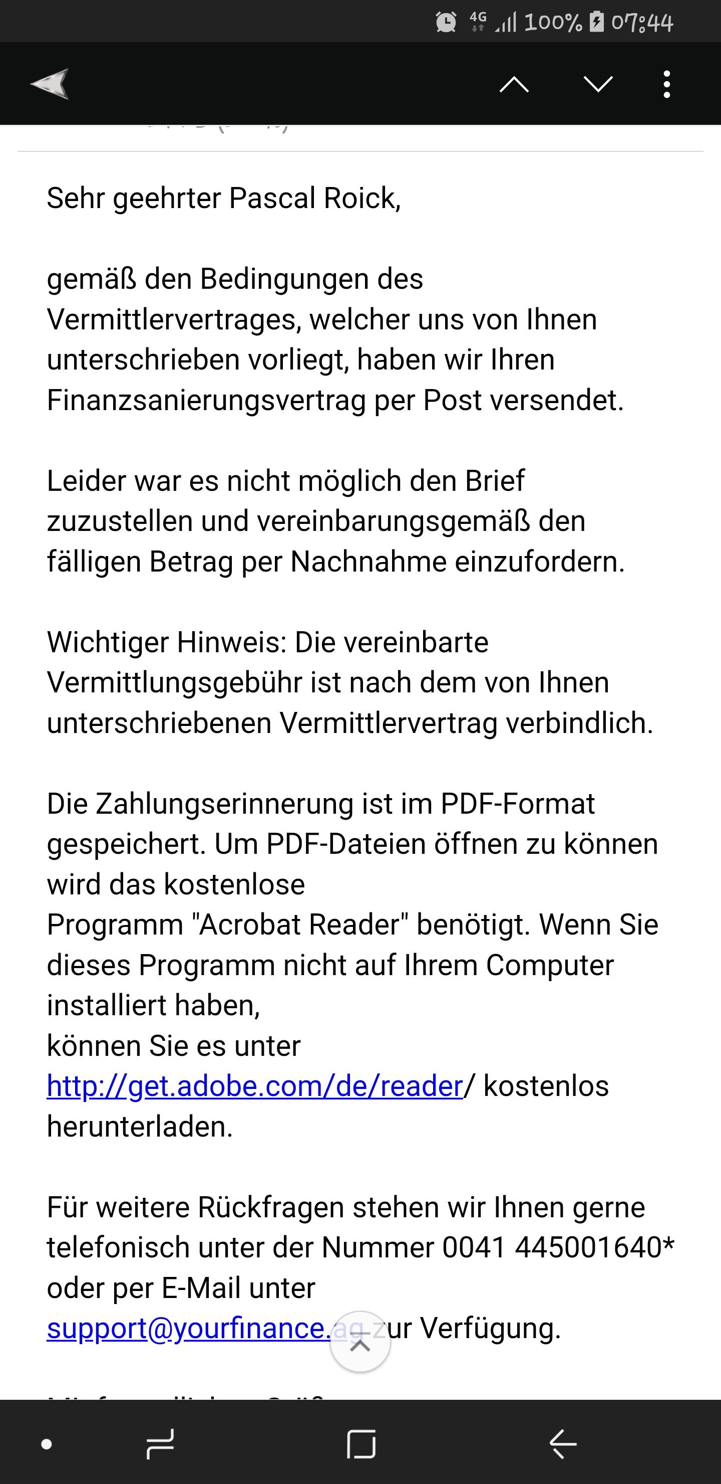 Your Finance Ag Erfahrungsberichte