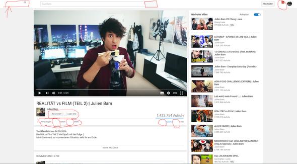 Das is es :D - (Youtube, Fehler)