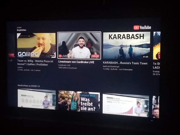 Youtube Auf Fernseher Geht Nicht