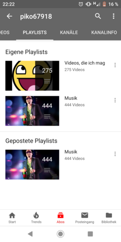 - (Computer, Internet, Youtube-Kanal)