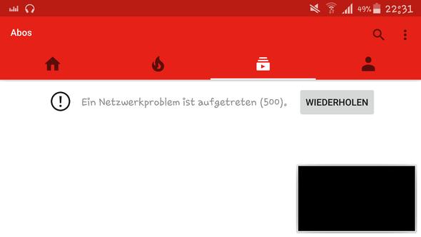da - (Youtube, Fehler)