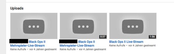 Bild - (Youtube, löschen, Stream)