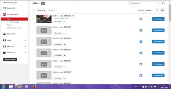 Youtubevideo Verarbeitungsfehler. Video wurde 11 mal gespeichert?