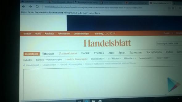 handelsblatt - (Schule, Hausarbeit, Printmedien)