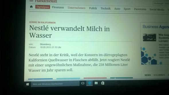 Handelsblatt & datum - (Schule, Hausarbeit, Printmedien)