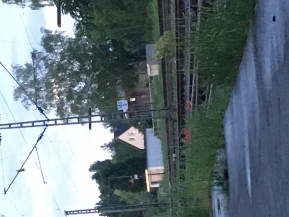 Zahlen an den Bahn Gleisen?