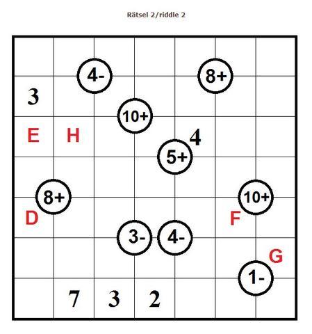 Rätsel 2 -Beschreibung siehe 1 - (Mathematik, Rätsel)