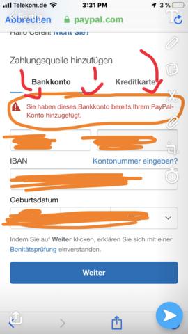 Lastschrift Paypal Funktioniert Nicht