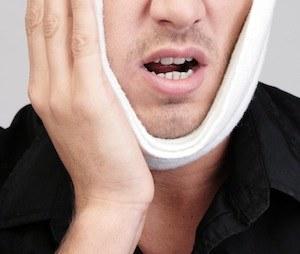 Federkissen Zahnschmerzen