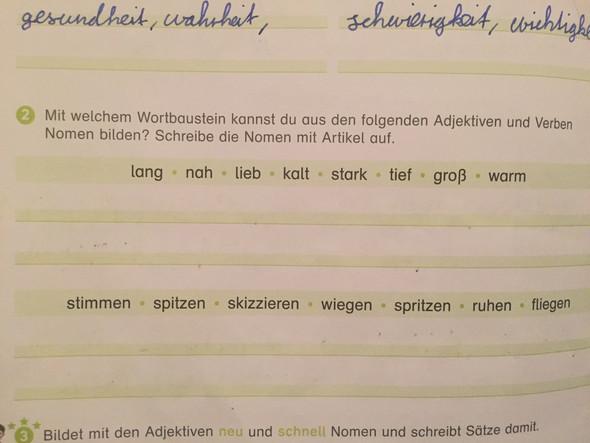 Bild - (Schule, deutsch, Aufgabe)