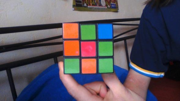 2 Seite - (Zauberwürfel, rubiks cube)