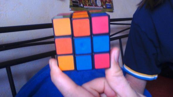 3 Seite - (Zauberwürfel, rubiks cube)