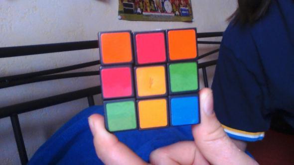 4 Seite - (Zauberwürfel, rubiks cube)