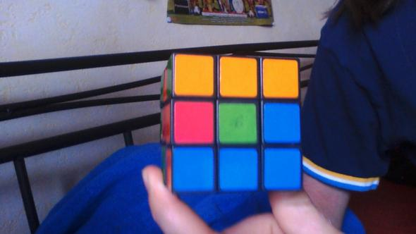6 Seite - (Zauberwürfel, rubiks cube)