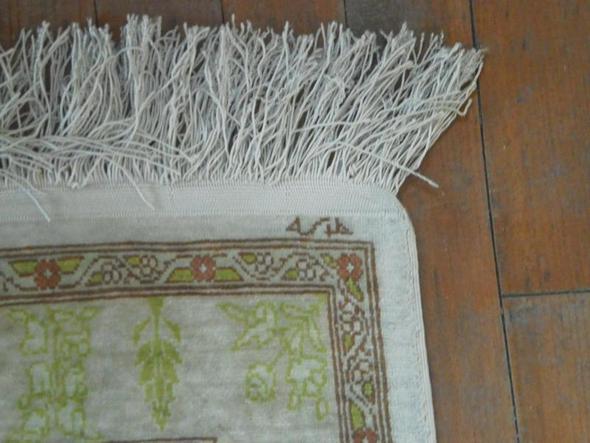 Ecke von Teppich 3 - (Zeichen, Teppich, Orientteppiche)