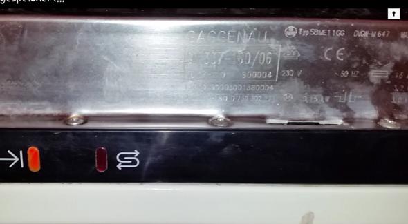 Siemens Kühlschrank Piept Beim Einschalten : Zeichenerklärung zu einer gaggenau ? spuelmaschine hausgeräte