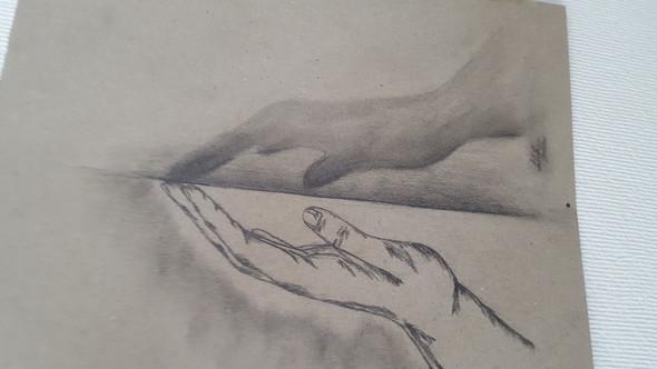 Schattenhand - (Meinung, zeichnen)