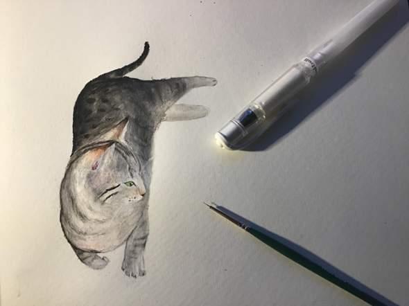 Zeichnung - wie findet ihr das?