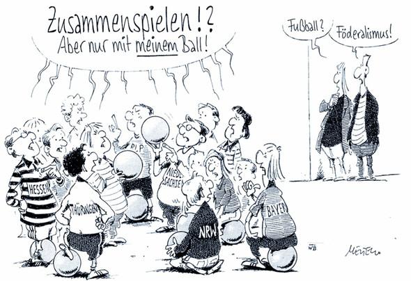 Föderalismus - (Politik, Deutschland, Föderalismus)
