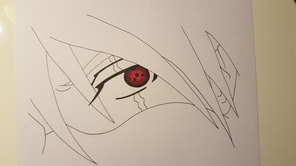 Zeichnung KREATIVER gestalten!? (Anime, Farbe, zeichnen)