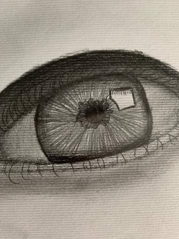 - (Augen, zeichnen)