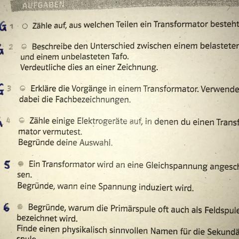 Zeichnung von unbelasteten und belasteten Trafos? (Schule, Physik ...