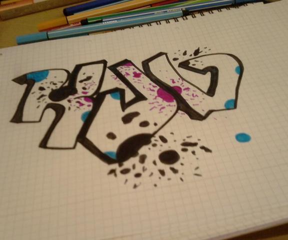 zeichnungen im graffiti style sind die okey tipps. Black Bedroom Furniture Sets. Home Design Ideas