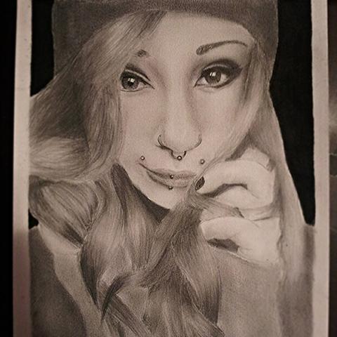 meine zeichnung von v.s - (Bilder, Kunst, instagram)