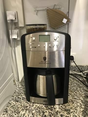 Zeit einstellen bei Kaffeemaschine Beem Fresh Aroma Perfect?