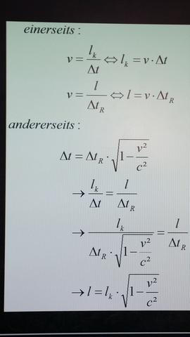 ^^ - (Physik, Zeitdilatation)