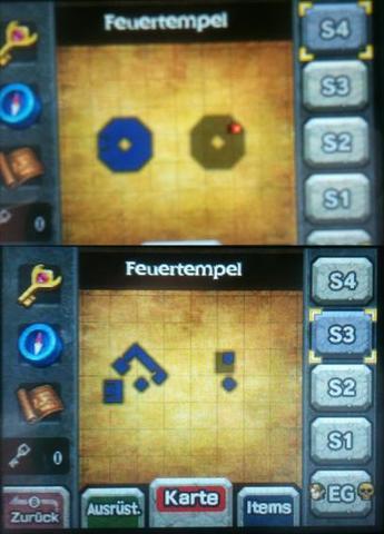 Zelda 3DS OoT - Feuertempel (Stockwerk 3 & 4) - (Games, Nintendo, Nintendo-ds)