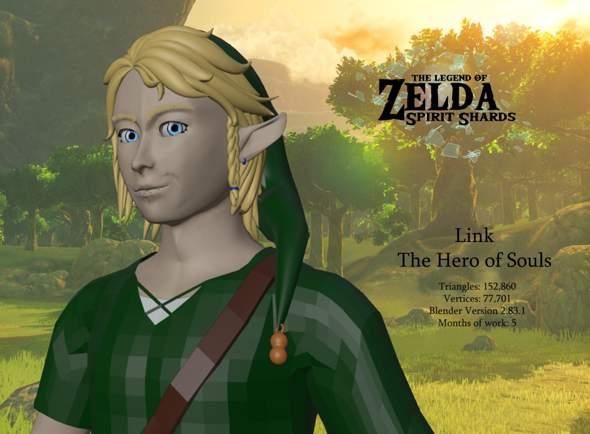 (Zelda) Link Fan-3D-Modell, habt ihr Ideen?