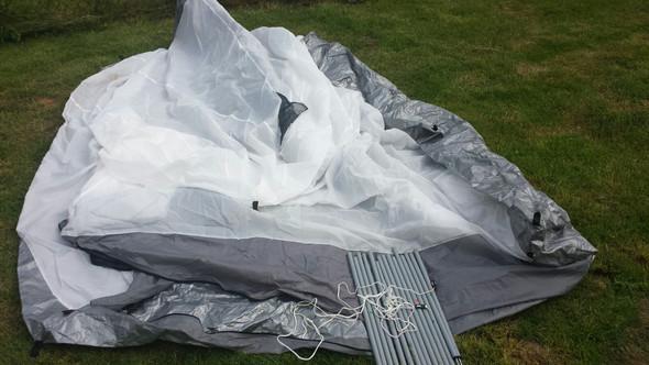 Zelt aufbauen ohne Anleitung HILFE?
