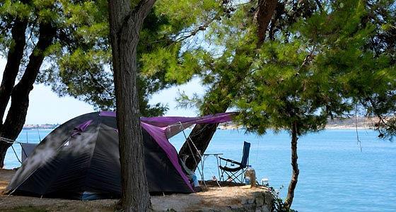 So einen Zeltplatz? - (Camping, Kroatien)