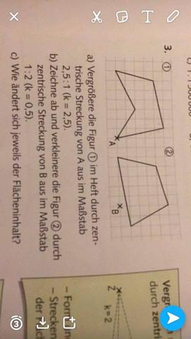 Aufgabe 3 - (Mathe, zentrische Streckung)