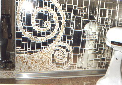 zerbrochene spiegeln zusammenfliesen mosaik kunst bauen spiegel. Black Bedroom Furniture Sets. Home Design Ideas